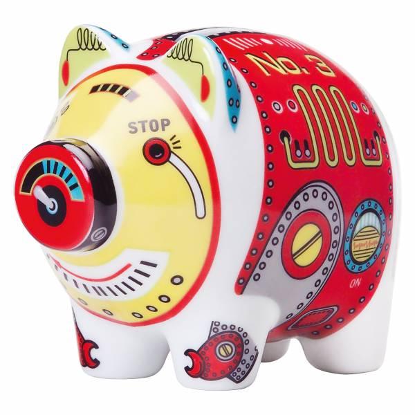 Mini Piggy Bank Sparschwein 3er Set von Michal Shalev