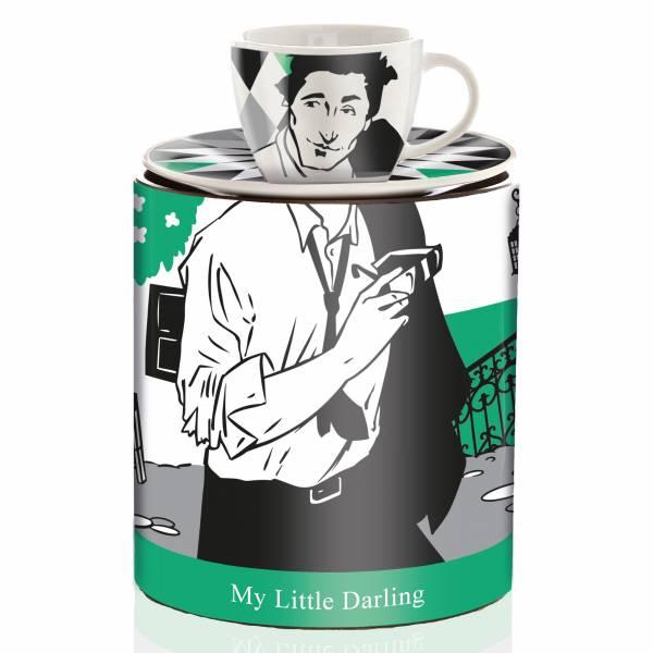 My Little Darling Espressotasse von Virginia Romo