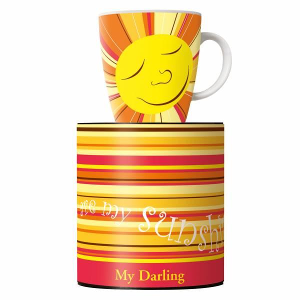 My Darling Kaffeebecher von Ellen Wittefeld