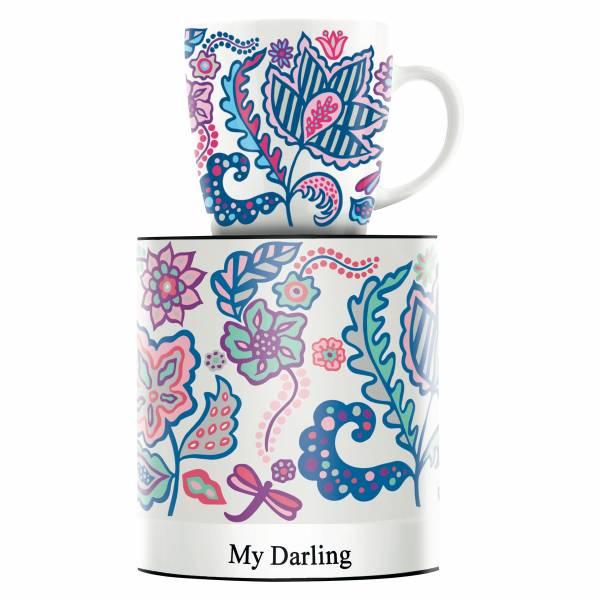 My Darling Kaffeebecher von Thorina Rose