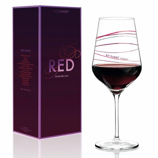 Red Rotweinglas von Luca Casini