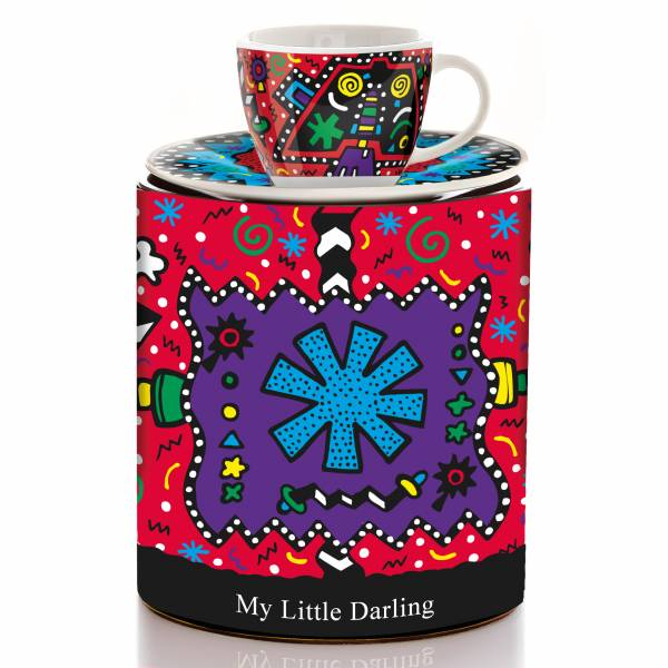 My Little Darling Espressotasse von Allison Gregory