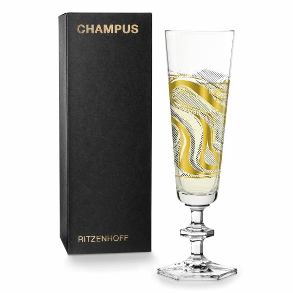 CHAMPUS Champagnerglas von Patricia Urquiola