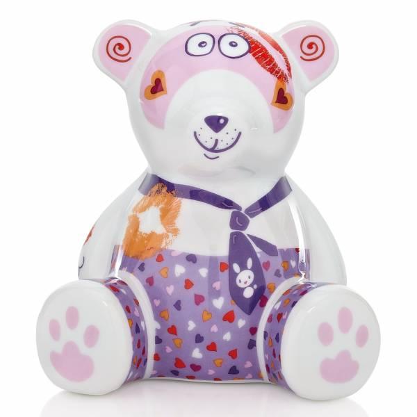 Mini Teddy Bank Spardose Bär von Michaela Koch