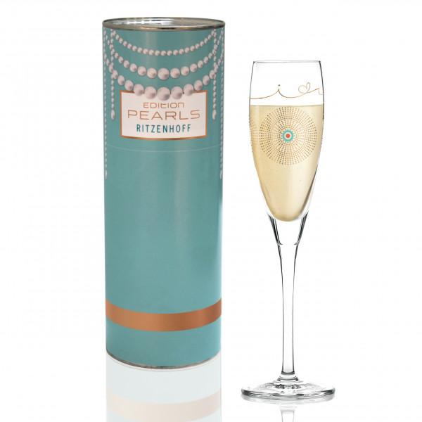 Pearls Edition Proseccoglas von Burkhard Neie