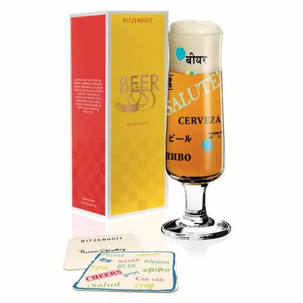 Beer Bierglas von Poonam Choudhry