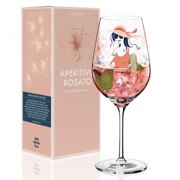 Aperitivo Rosato Aperitifglas von Andrea Arnolt