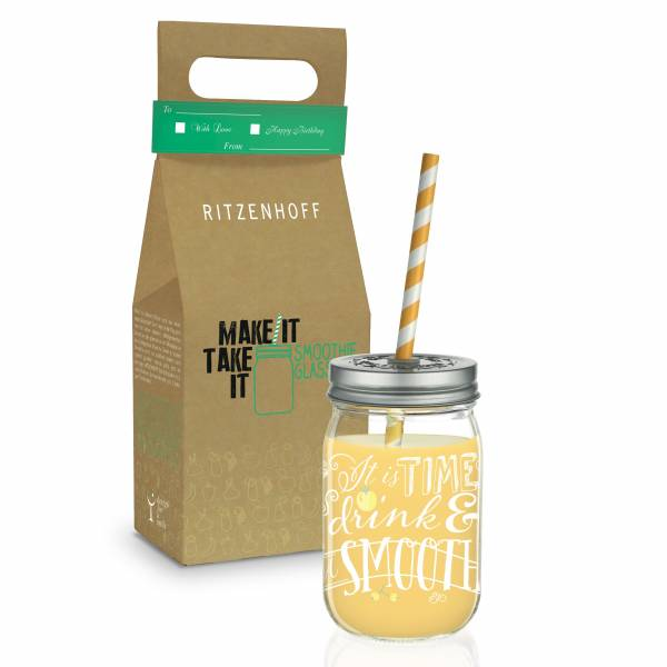 Make It Take It Smoothieglas von Kathrin Stockebrand