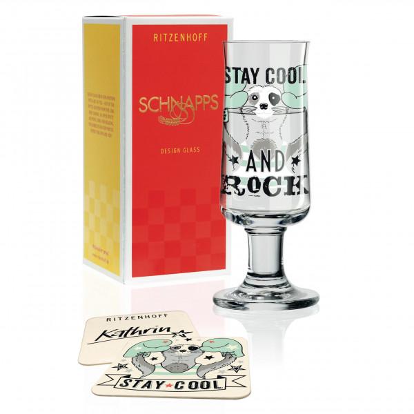 Schnapps Schnapsglas von Kathrin Stockebrand