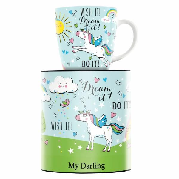 My Darling Kaffeebecher von Kathrin Stockebrand