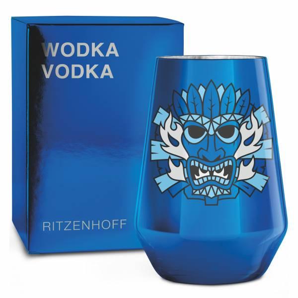 VODKA Vodkaglas von Oliver Hartmann (Fire Water)