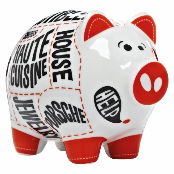 Mini Piggy Bank Sparschwein 3er Set von Martina Schlenke