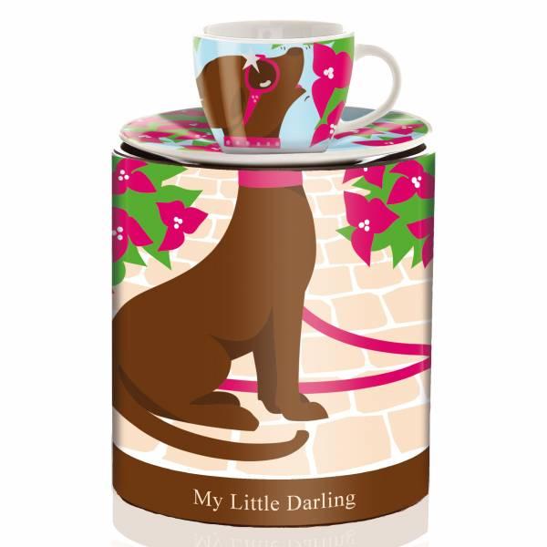 My Little Darling Espressotasse von Maya Franke