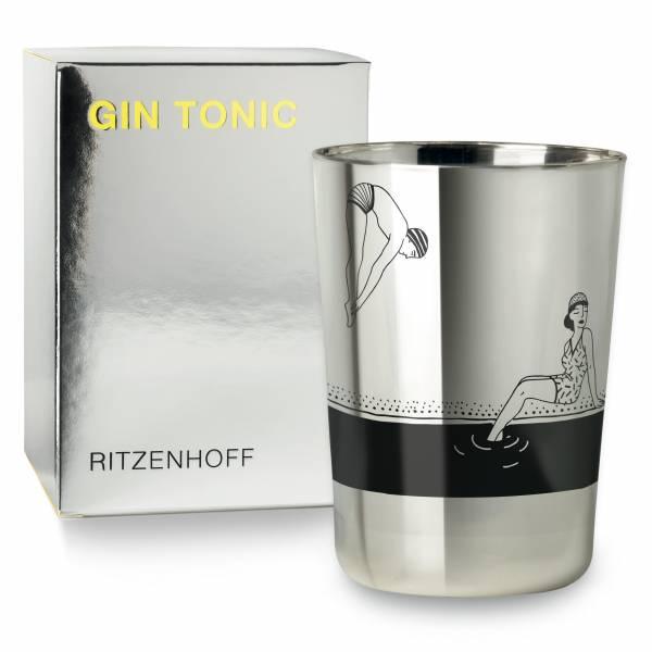 GIN TONIC Ginglas von Studiopepe