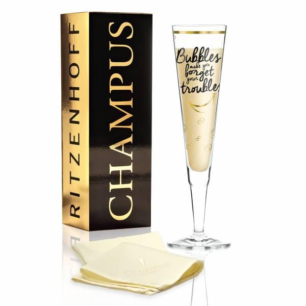 Champus Champagnerglas von Véronique Jacquart