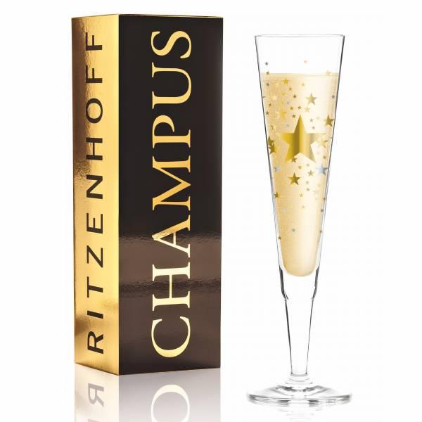 Champus Champagnerglas von Ellen Wittefeld