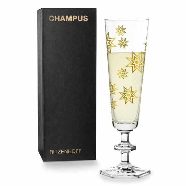CHAMPUS Champagnerglas von sieger design