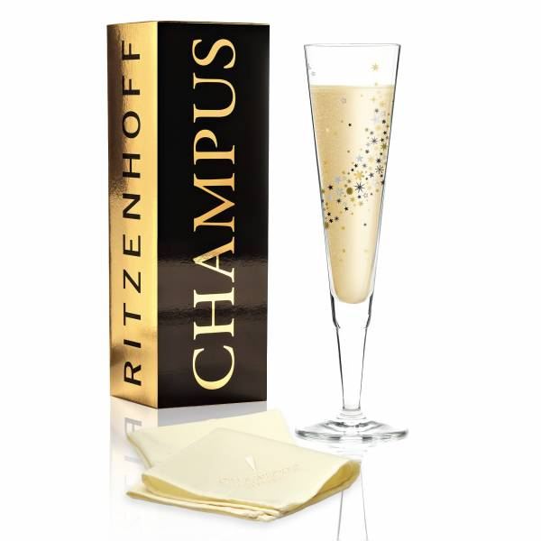 Champus Champagnerglas von Iris Interthal