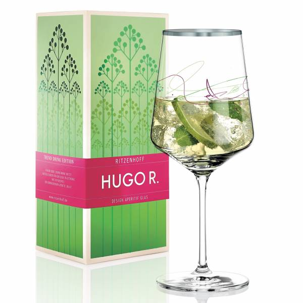 Hugo R. Aperitifglas von Kurz Kurz Design