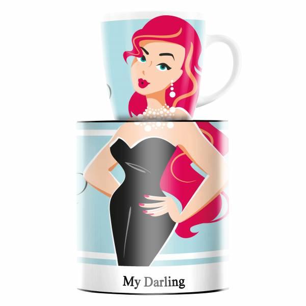 My Darling Kaffeebecher von Astrid Müller