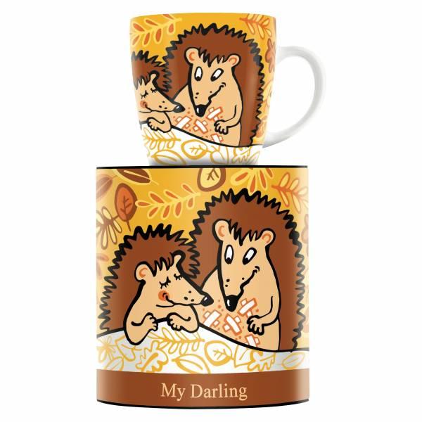 My Darling Kaffeebecher von Martina Schlenke