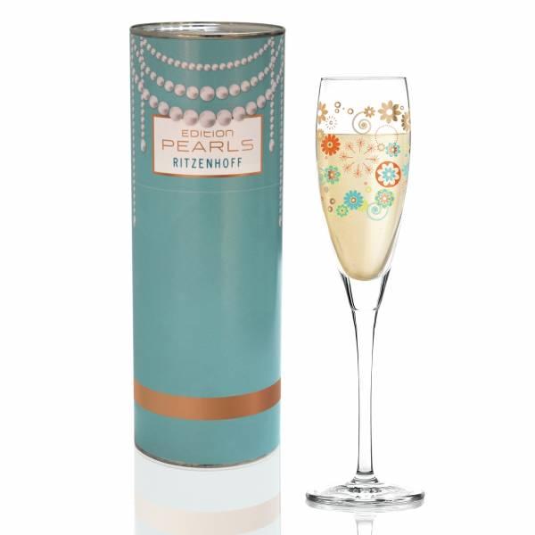Pearls Edition Proseccoglas von Véronique Jacquart