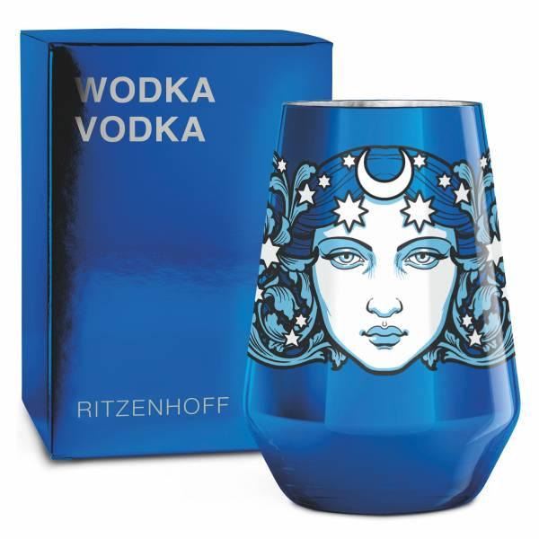 VODKA Vodkaglas von Medusa Dollmaker