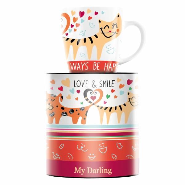 My Darling Kaffeebecher von Michal Shalev