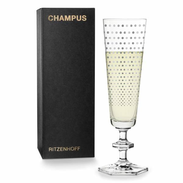 CHAMPUS Champagnerglas von Noé Duchaufour-Lawrance