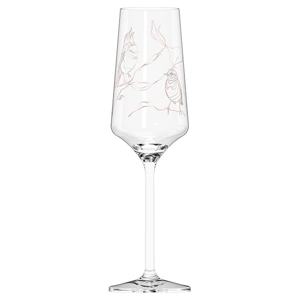 Prosecco Glass by Marvin Benzoni (Sparrows)